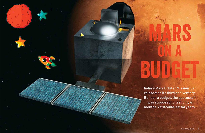 Mars on a budget